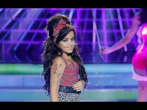 Abril imita a Amy Winehouse en Tu cara me suena Mini