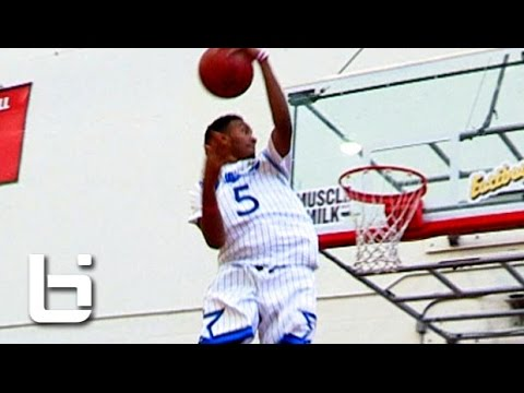 "Terrance ""2K"" Ferguson Takes The Scoop Dunk to a NEW LEVEL!! Never Before Seen!"