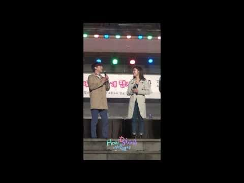 140227 S.M. THE BALLAD CHEN WITH ZHOUMI ZHANGLIYIN 제주도 팬싸 장리인 깜짝 생일파티 fancam