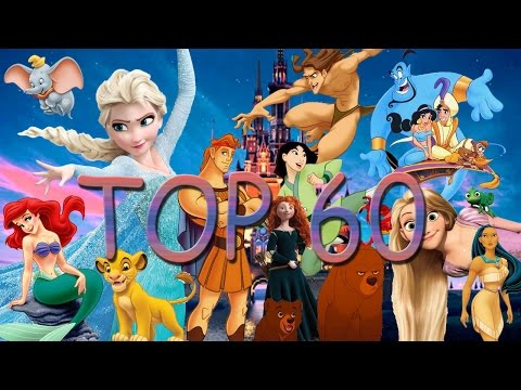 TOP 60 CANCIONES DISNEY(ESPAÑOL) / DISNEY SONGS