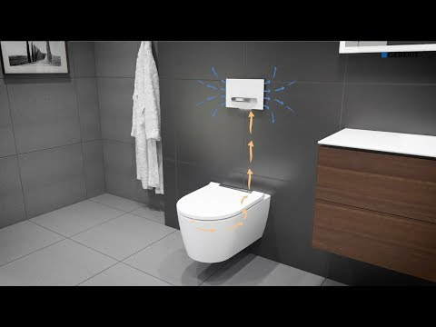 Geberit DuoFresh Module with Geberit ONE WC - Installation