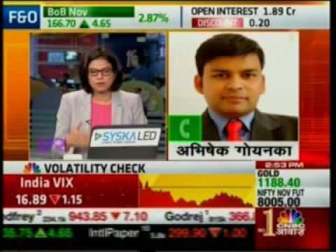 CNBC Awaaz Aakhri Sauda 24 Nov 2016 05min 56sec Mr  Abhishek Goenka   CEO, India Forex Advi