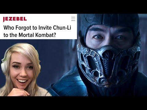 REACTION: Mortal Kombat trailer & where's CHUN-LI?