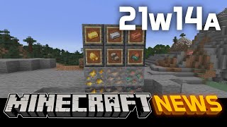 What's New in Minecraft Snapshot 21w14a?