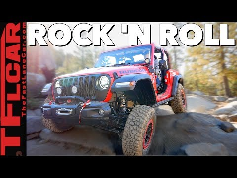 Can a New Lifted and MOPARized Jeep Wrangler JL Tame the Rubicon Trail?