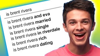 Brent Rivera Answers the Web's Most Searched Questions