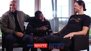 Paul Pogba gatecrashes Zlatan Ibrahimovic's interview with Thierry Henry