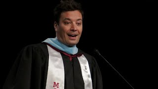 Jimmy Fallon Surprises Parkland Students at Their Graduation