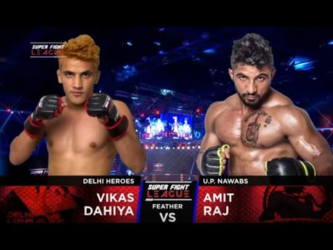 Vikas Dahiya v/s Amit Raj | Delhi Heroes v/s UP Nawabs
