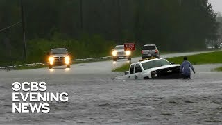 Tropical Storm Florence drops staggering rainfall totals