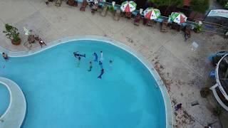 Mermaid Competition In The Pool | Thi Người Cá Tại Vũng Tàu - Tiun