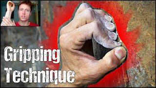 Rock Climbing Technique For Beginners : The Importance Of Gripping Technique | Crimps VS Open Grips