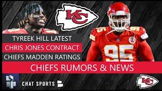 Chiefs Rumors: Tyreek Hill Looming Suspension, Chris Jones Contract & Patrick Mahomes Madden Rating