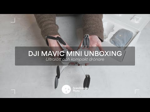 DJI släpper ny ultralätt drönare – DJI Mavic Mini UNBOXING