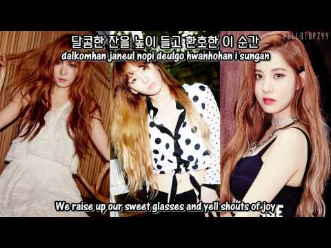 Girls' Generation-TTS (Taetiseo) - Stay + [English Subs/Romanization/Hangul]