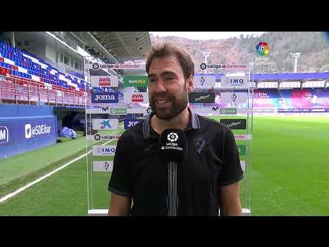 Calentamiento SD Eibar vs Sevilla FC