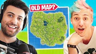 Will the Old Map Come Back? ft. Ninja - Fortnite Season 4