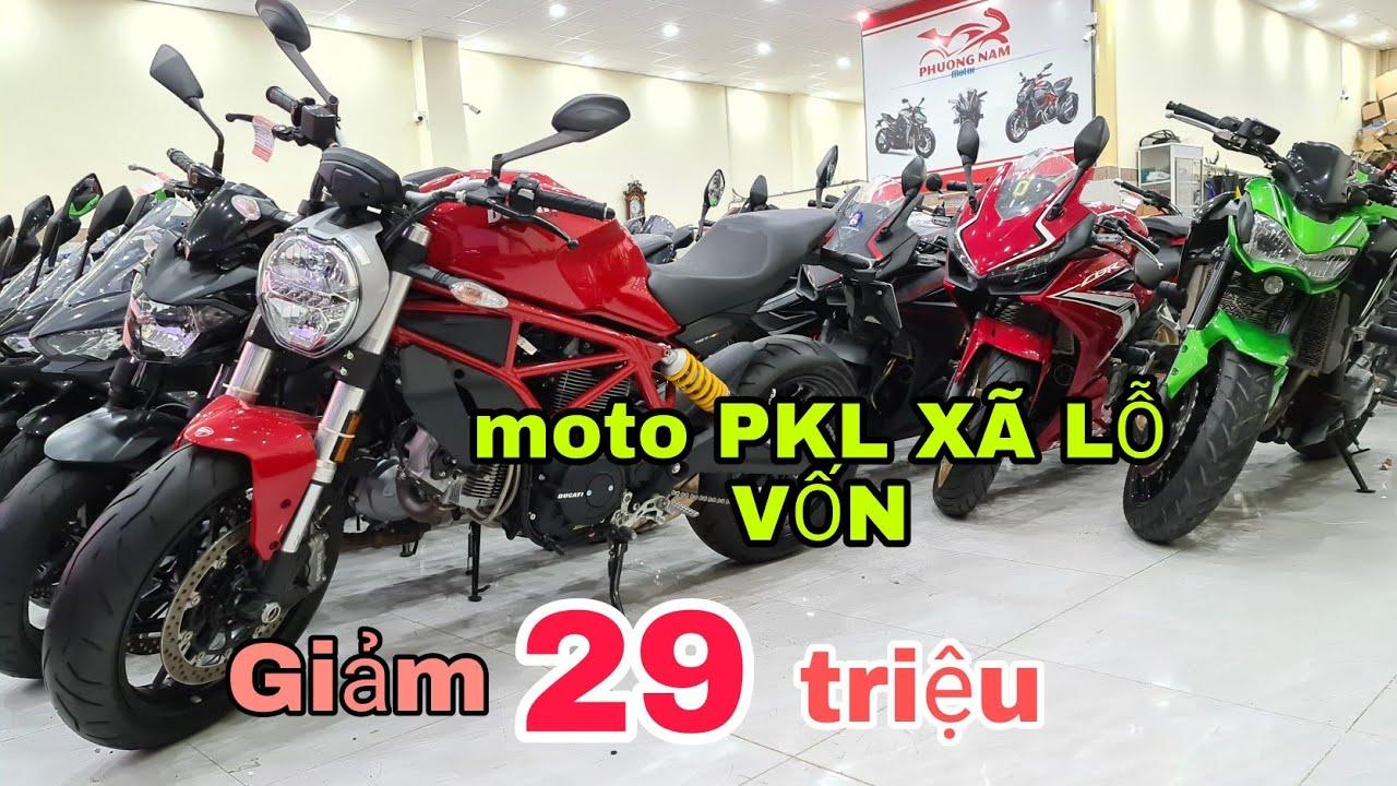 siêu thị môtô phương nam bất ngờ xã lổ moto PKL giảm lên đến 29triệu chiếc| Mỹ Motor