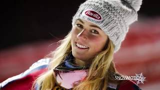 SnowMotion 2018 Chairlift Interview - Mikaela Shiffrin