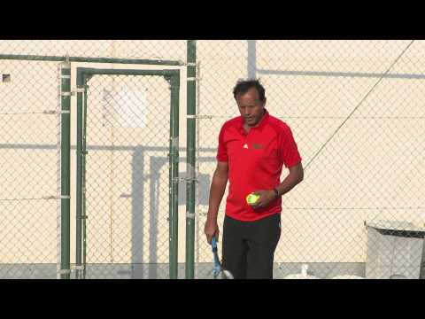 Tennis Lessons with Al Bustan Centre & Residence - Basic Serve