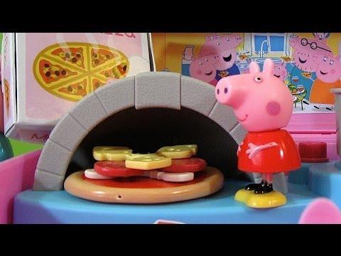 Peppa Pig Pizzeria Playset Carry Case - Juguetes de Peppa Pig