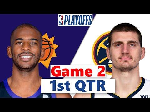 Denver Nuggets vs. Phoenix Suns Full Highlights 1st QTR Game 2 | NBA Playoffs 2021