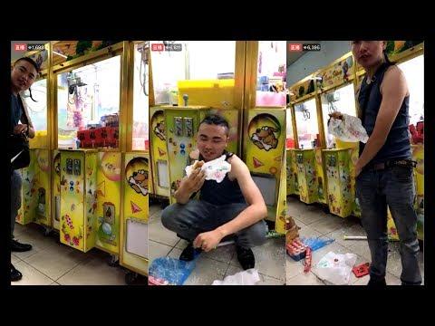 劉冠廷直播-吃屎哥 虐待小動物又棄養!!被砸娃娃機處理請吃漢堡配養樂多!!