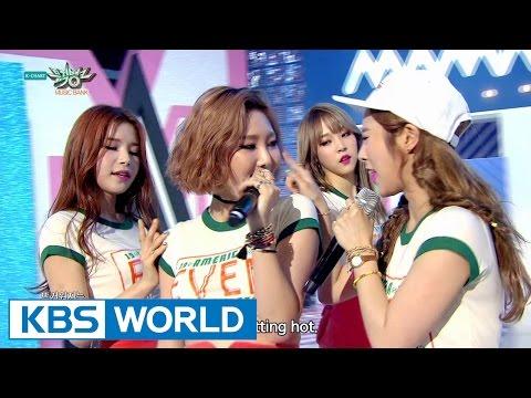 MAMAMOO - Um Oh Ah Yeh   마마무 - 음오아예 [Music Bank COMEBACK / 2015.06.19]
