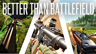 Large-Scale Shooter Games that do Battlefield but BETTER!