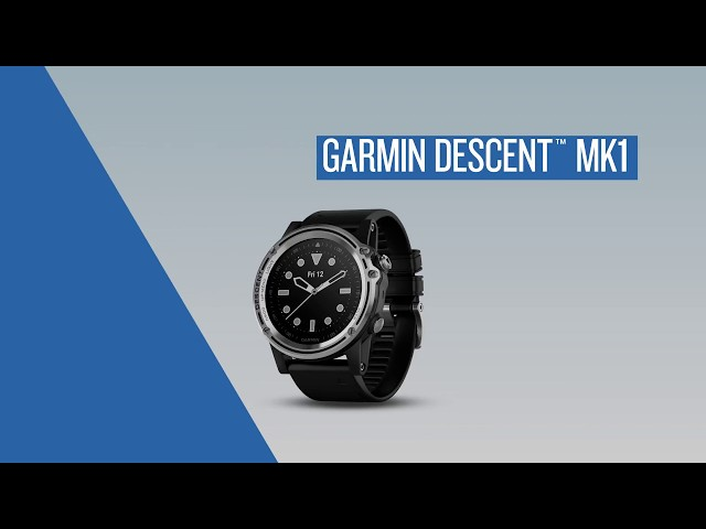 Descent™ Mk1 Tutorial Videos | Garmin | United States