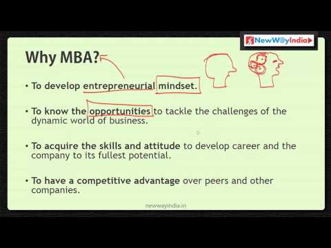 MBA 101 - Why MBA? - Why Do You Really Need an MBA? - Best MBA Lectures for Beginners (#002)