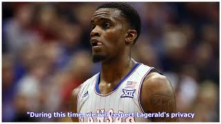 Lagerald Vick taking 'leave of absence' from KU basketball team