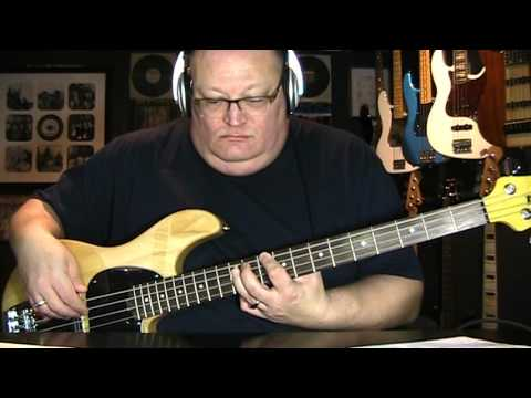 David Bowie Modern Love Bass Cover with Notes & Tablature