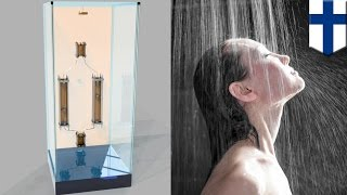 Water-saving shower: Showerloop recycles used water for long, guilt-free showers - TomoNews