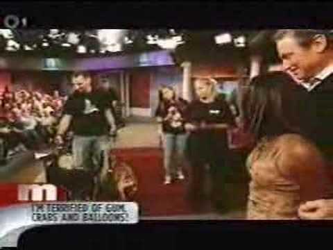 Phobia Cure on Maury with Hypnotist The Incredible BORIS CHERNIAK