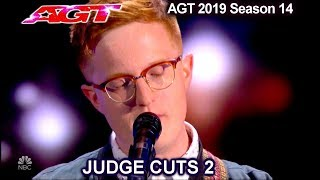 "Lamont Landers sings ""Walk Me Home"" MIXED REACTIONS | America's Got Talent 2019 Judge Cuts"