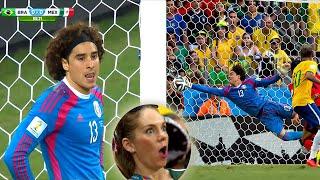 El Día Que MEMO OCHOA HUMILLÓ a NEYMAR y a Toda La Selección Brasileña