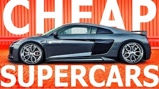 SUPERCARS You CAN Afford