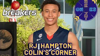 RJ Hampton Skips College To Turn Pro!!! NZ Breakers Scouting Report | Colin's Corner