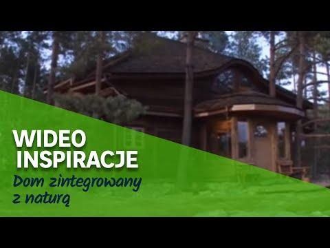 Dom zintegrowany z naturą (wideo)