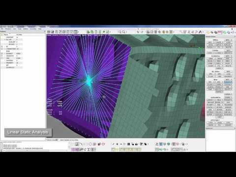 Effortless Linear Static Analysis workflow with BETA CAE software suite