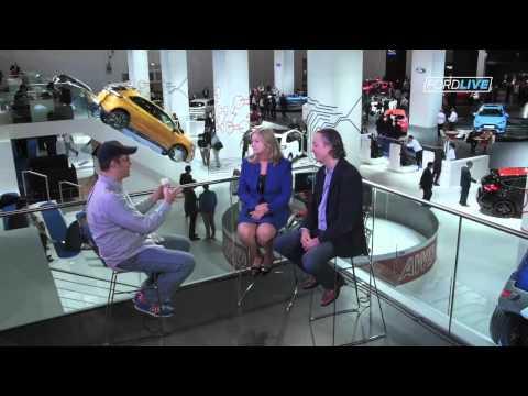 Ford Europe COO, Barb Samardzich + Sascha Pallenberg discuss mobility + gamification