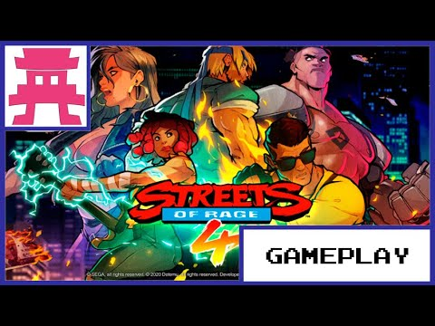 Streets of Rage 4.  GamePlay Fase 1