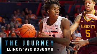 Illinois' Standout Freshman Ayo Dosunmu | Big Ten Basketball | The Journey