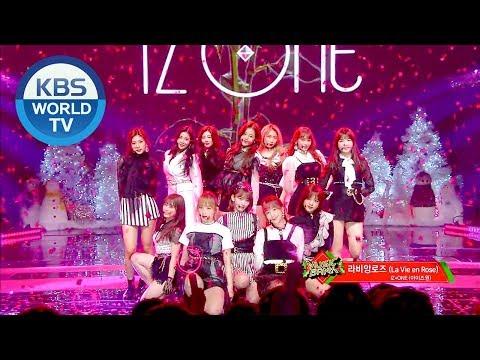 IZ*ONE - La vie en Rose | 아이즈원 - 라비앙로즈 [Music Bank / 2018.12.21]
