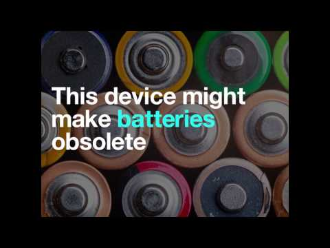 This device might make batteries obsolete