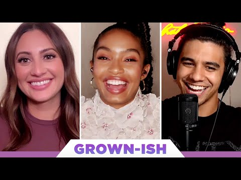 """The """"Grown-ish"""" Cast Plays Who's Who"""