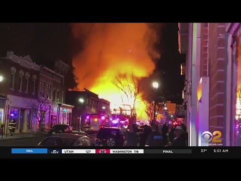 Bound Brook Fire Destroys Several Buildings