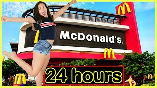 I ONLY ATE McDONALDS FOODS FOR 24 HOURS