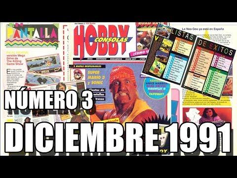 HOBBY CONSOLAS NUMERO 3: DICIEMBRE 1991